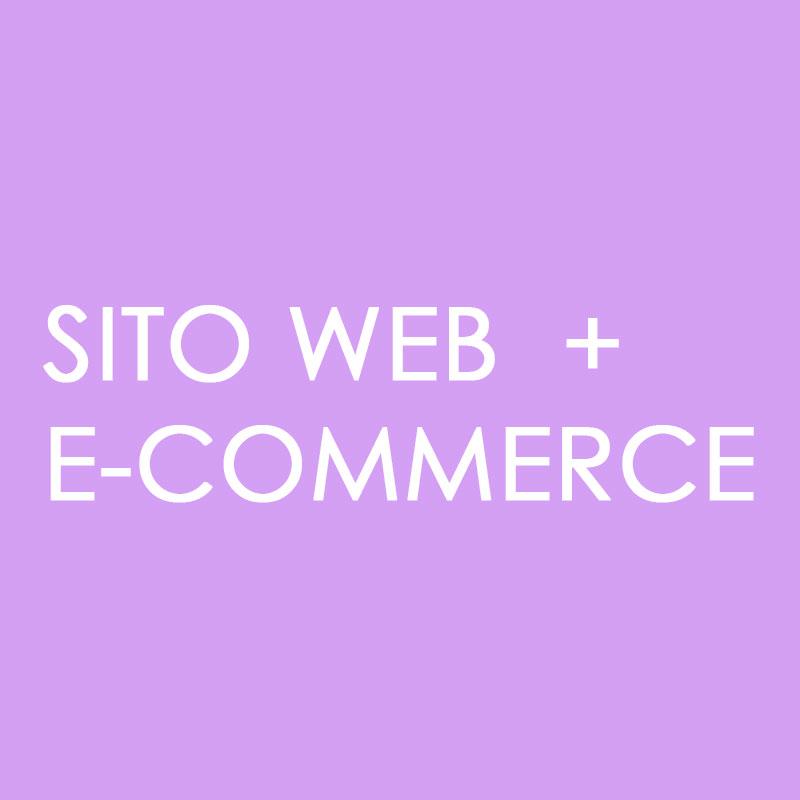 Sito web con e-commerce